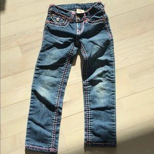 True Religion kids jeans size 5/6
